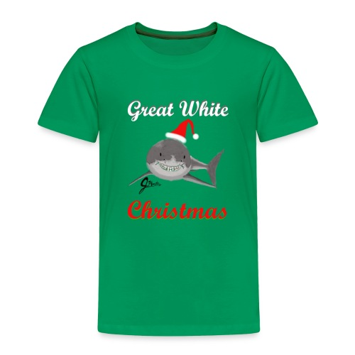 Dreaming of a Great White Christmas - Toddler Premium T-Shirt