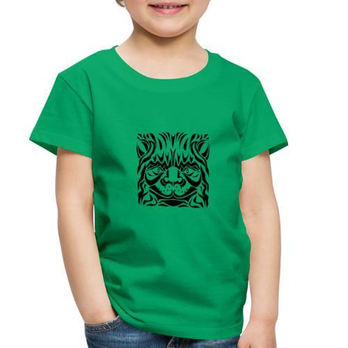 Cat's Head - Toddler Premium T-Shirt