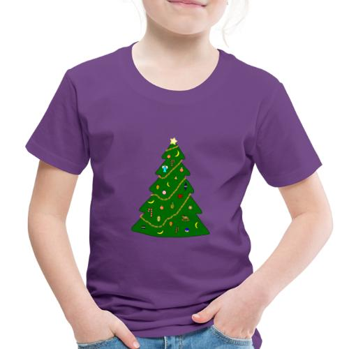 Christmas Tree For Monkey - Toddler Premium T-Shirt