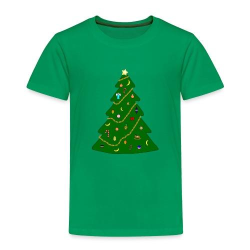 Christmas Tree For Monkey - Toddler Premium T-Shirt