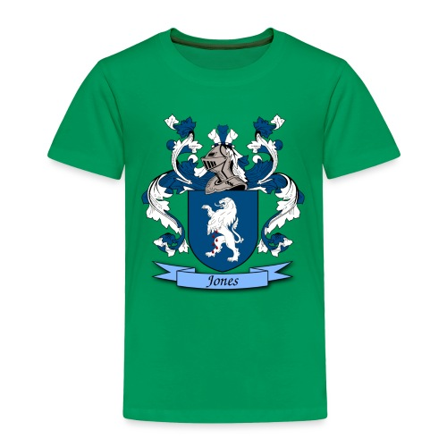Jones Family Crest - Toddler Premium T-Shirt