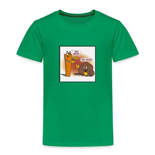 Rock And Ruler - Toddler Premium T-Shirt