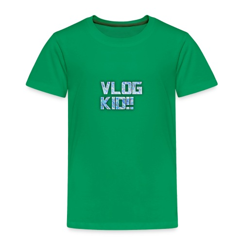 Vlog Kid - Toddler Premium T-Shirt