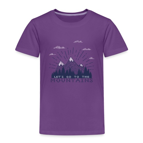 Adventure Mountains T-shirts and Products - Toddler Premium T-Shirt