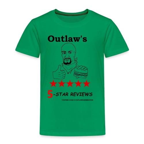 Outlaw Generation Logo - Toddler Premium T-Shirt