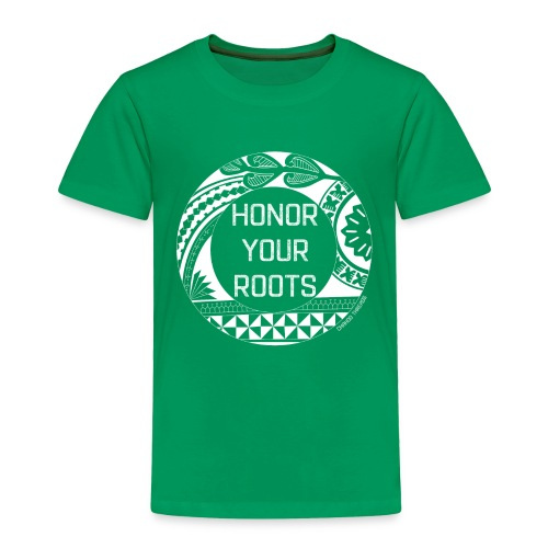 Honor Your Roots (White) - Toddler Premium T-Shirt