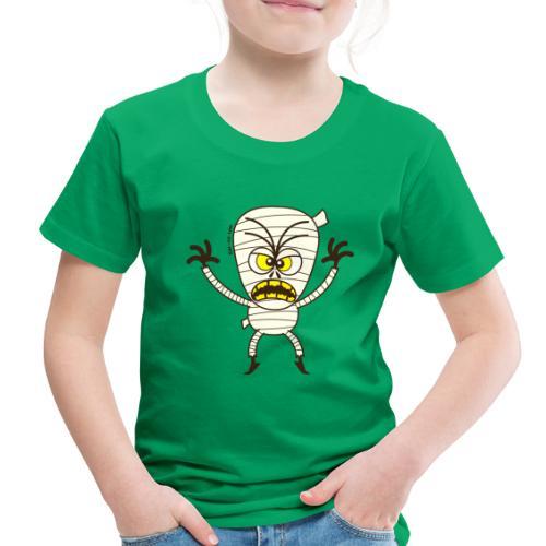 Scary Halloween Mummy - Toddler Premium T-Shirt