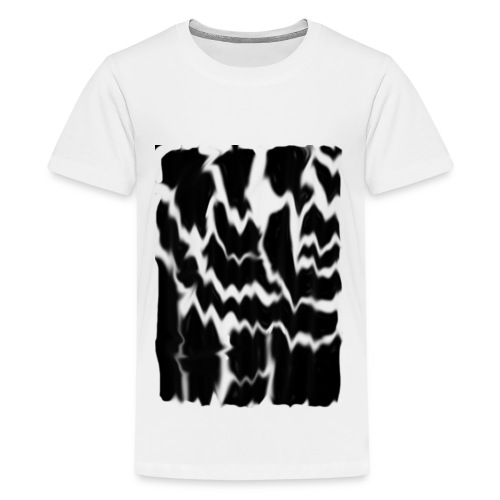 Black Smudge - Kids' Premium T-Shirt