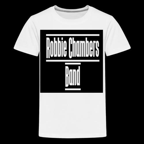 rcb logo white shirt - Kids' Premium T-Shirt