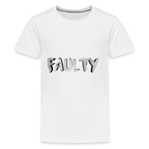 Faulty Spaghetti Merch - Kids' Premium T-Shirt