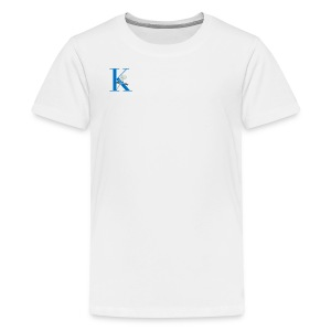 Initial Rose - Kids' Premium T-Shirt