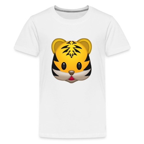 Cute Tiger Face T-Shirt - Kids' Premium T-Shirt