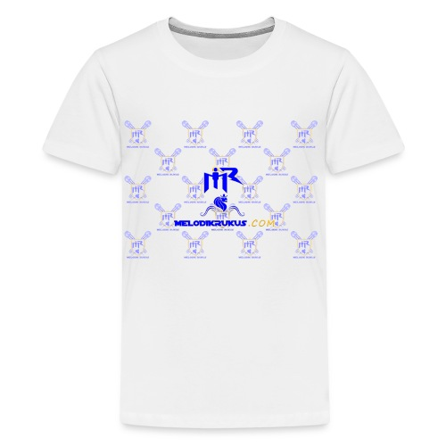 MR checkered - Kids' Premium T-Shirt