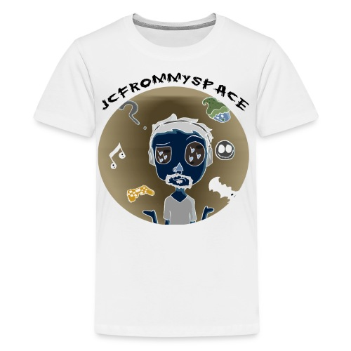 JCFROMMYSPACE NEGATIVE CURVE - Kids' Premium T-Shirt