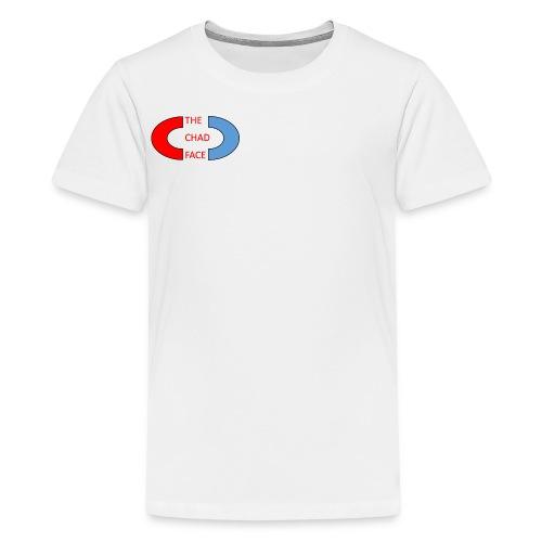 thechadfacelogo - Kids' Premium T-Shirt