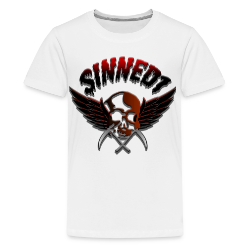 Sinned1 Dripping Text - Kids' Premium T-Shirt