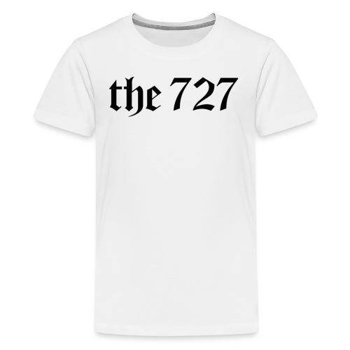 The 727 in Black Lettering - Kids' Premium T-Shirt