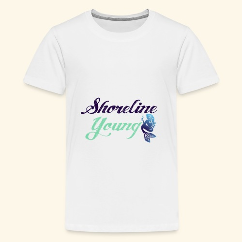 bluegreenshoreline - Kids' Premium T-Shirt
