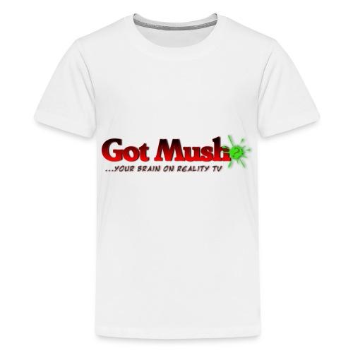 Got Mush? ...your brain on reality tv - Kids' Premium T-Shirt