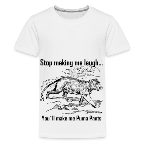 Stop Making me Laugh - Kids' Premium T-Shirt