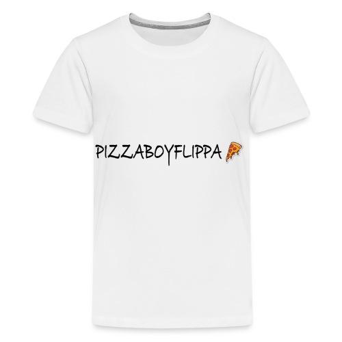 PizzaBoyFlippa - Black - Kids' Premium T-Shirt