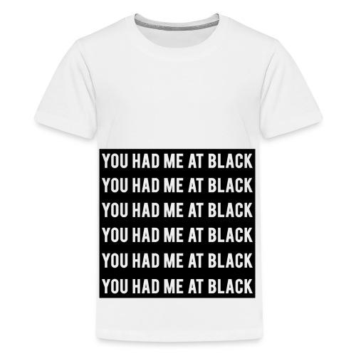You Had Me at Black Remix - Kids' Premium T-Shirt