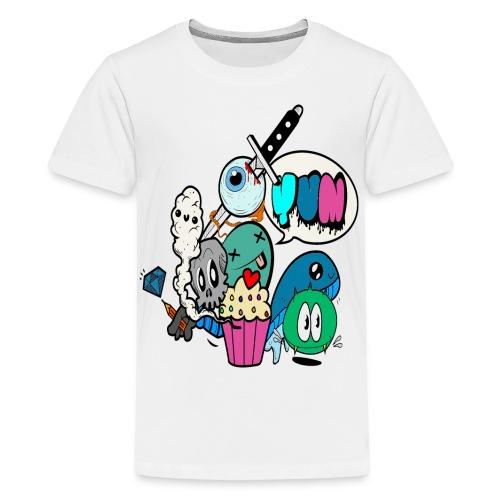Death by Cupcake - Kids' Premium T-Shirt