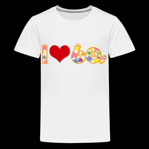 I love 60s - Kids' Premium T-Shirt
