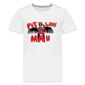 OFFICIAL PVTLawman Logo - Kids' Premium T-Shirt