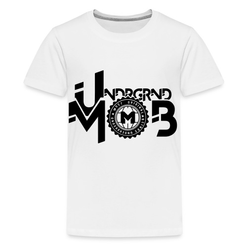 UMOB Black - Kids' Premium T-Shirt