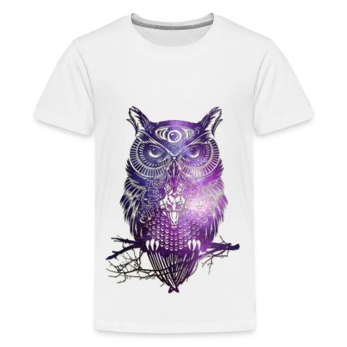 All Seeing Owl - Kids' Premium T-Shirt