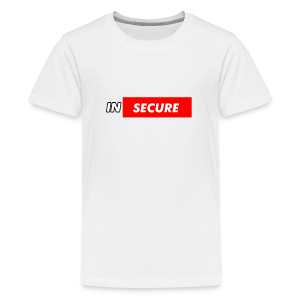 funny Insecure supreme like design - Kids' Premium T-Shirt