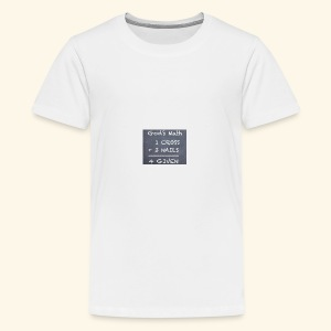 1 cross - Kids' Premium T-Shirt