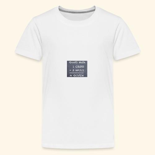 1 cross - Kids' Premium T-Shirt
