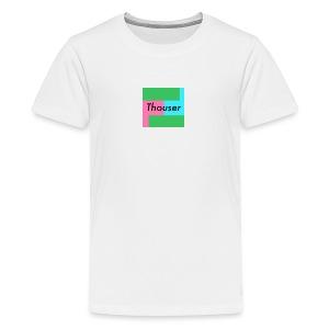 Thouser square logo - Kids' Premium T-Shirt