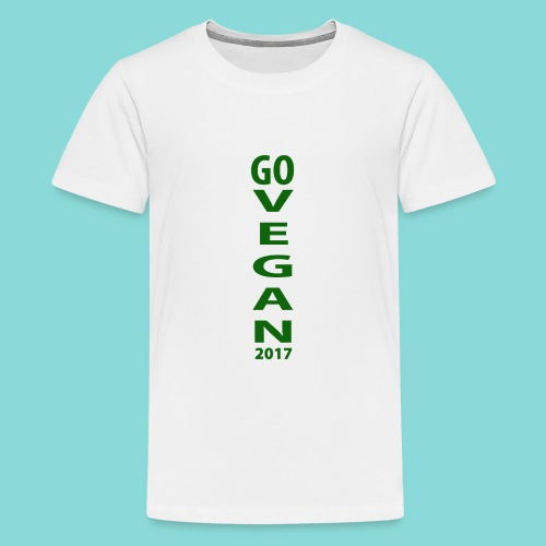 Go_Vegan_2017 - Kids' Premium T-Shirt