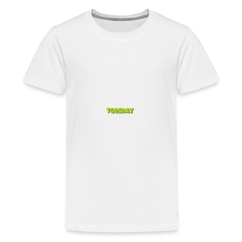Tuesday designstyle summer m - Kids' Premium T-Shirt