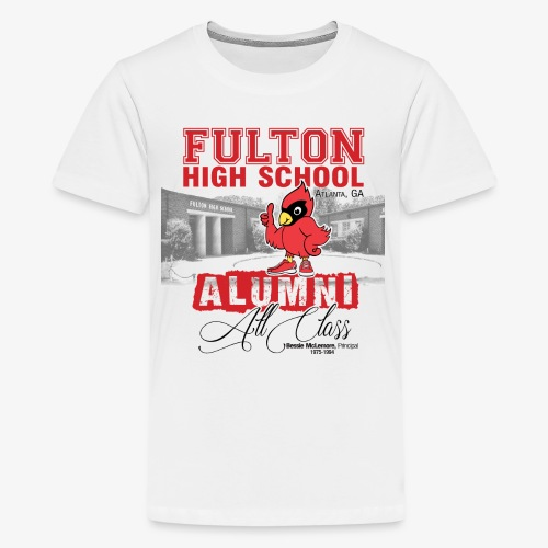 FHS All Class Alumni_WHITE Tee - Kids' Premium T-Shirt