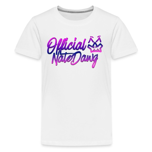 Official NateDawg Merch and Accessories - Kids' Premium T-Shirt
