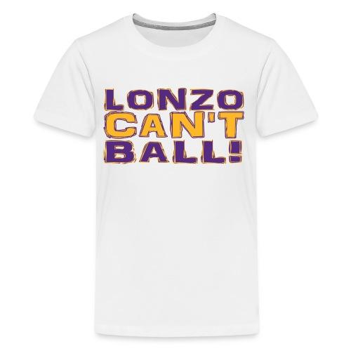 Lonzo Can't Ball - Kids' Premium T-Shirt