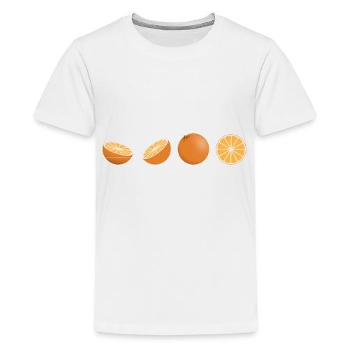 oranges - Kids' Premium T-Shirt
