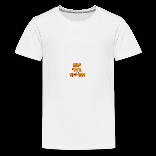 Up Til Noon Water Bottle - Kids' Premium T-Shirt