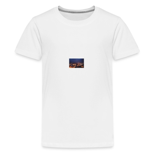 300px-Downtown_Binghamton_at_Night - Kids' Premium T-Shirt