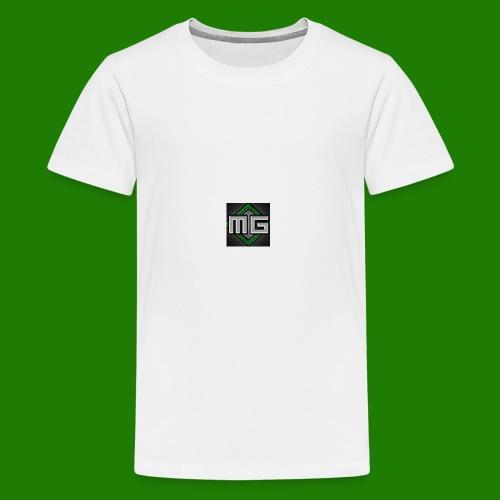 MrGreenGaming Logo Phone Cases - Kids' Premium T-Shirt