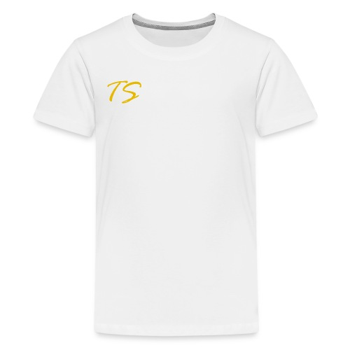 TS LOGO-GOLD VERSION [LIMITED EDITION] - Kids' Premium T-Shirt