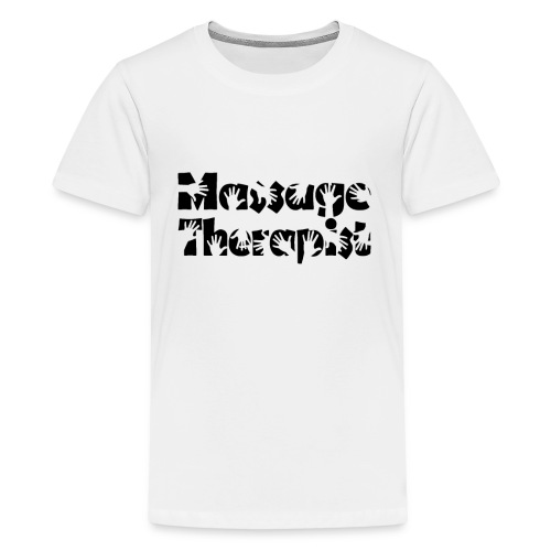 Funny Massage Therapist Shirt Massage Therapy Tee - Kids' Premium T-Shirt