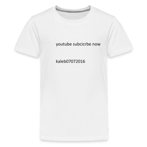 kaleb - Kids' Premium T-Shirt