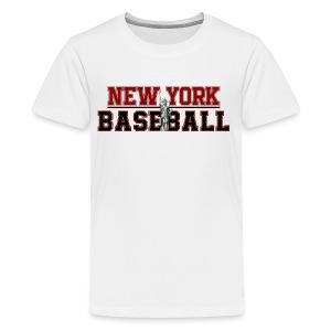Baseball In New York - Kids' Premium T-Shirt