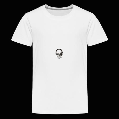 Yung J skull - Kids' Premium T-Shirt