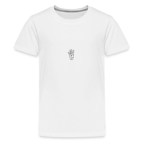 4s Up Small logo - Kids' Premium T-Shirt